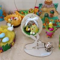 Фотоотчет о детско-родительской выставке «Светлая Пасха»