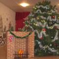 Мастер-класс «Камин для новогодней декорации сказки «Золушка» из картона своими руками