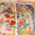 Картина в нетрадиционной технике «Осенняя березка»