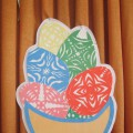 Мастер-класс «Тарелочка с пасхальными яичками» к празднику Великой Пасхи