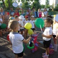 Выступление агитбригады подготовительной группы №9 «В лето на велосипеде»