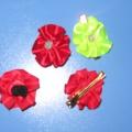 Цветы из лент. Мастер-класс