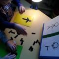 Дидактическая игра для детей с нарушением зрения по ориентировке в пространстве «Повтори позу человека на схеме»