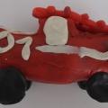 Детский мастер-класс «Пожарная машина». Поделка из бросового материала и пластилина (средняя группа)