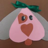 Детский мастер-класс «Подарок к Дню святого Валентина «Собачка»