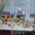 Уголок деревянной игрушки