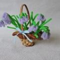 Мастер-класс «Цветы весны из синельной проволоки»