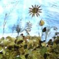 Коллаж «Наступила осень». Коллективная работа детей второй младшей группы (фотоотчет)