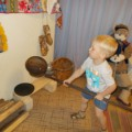 Мини-музеи «Русская изба» и «Куклы из бабушкиного сундука»