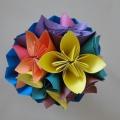 Мастер-класс «Букет цветов из бумаги»