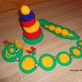Развивающие игрушки для малышей своими руками.