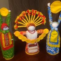 Мастер-класс по изготовлению славянской куклы «Жила-была Масленица»