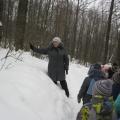 Фотоотчёт «Экскурсия в зимний лес с детьми среднего дошкольного возраста»