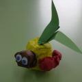 Мастер-класс по ручному труду «Яблоко с червячком»