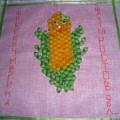 Лоскуток для кукурузного одеяла. Мастер-класс