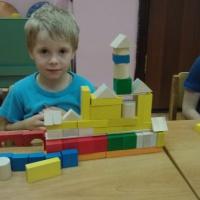 Фотоотчет «Юные строители»