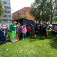 Фотоотчет о музыкально-физкультурном развлечении «День защиты детей»