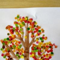 Мастер-класс для воспитателей «Осеннее дерево»