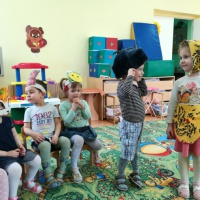 Фотоотчет «Неделя театра в группе раннего возраста»