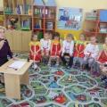 Фотоотчёт о празднике с детьми старшего дошкольного возраста «День славянской письменности и культуры»