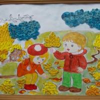 Фотоотчёт «Осенние поделки»