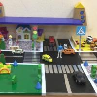 Макет по правилам дорожного движения