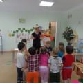 Непосредственная образовательная деятельность по лепке «Дымковская барышня»