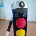 Светофор для уголка безопасности