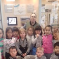 Фотоотчет о посещении музея Бурятского научного центра Со ран в рамках Дня российской науки