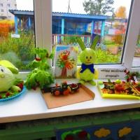 Фотоотчёт с выставки семейного творчества «Наш весёлый огород!»
