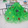 «Снежная сказка» Конкурс в детском саду на лучший участок