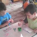 Программа кружка «Рисование нитью» для детей подготовительной к школе группе