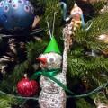 Мастер-класс по изготовлению игрушки «Снеговик из фольги»