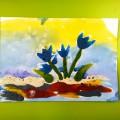 Фотоотчет «Весенние зарисовки пластилином»