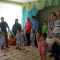 Развлечение с родителями, посвящённое 23 февраля (первая младшая группа)