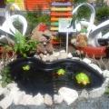 Экологический проект ландшафтного дизайна парадной зоны на территории детского сада. Клумба «По тропинке к озеру»