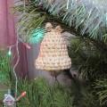 Рождественский колокольчик из талаша. Мастер-класс