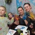 Фотоотчет «Рисование ладошками. Творчество выходного дня»