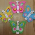 «Бабочки-приглашения»— идеи для выпускного утренника