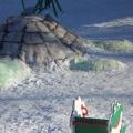 «Ледяной городок». Зимнее оформление участка