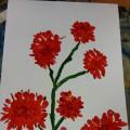 Цветы для ветеранов ко Дню Победы— фотоотчет
