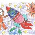 Конкурс рисунков в нашей группе «Мы изучаем космос»