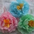 Мастер-класс «Цветы из бумажных салфеток»