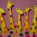 Мастер-класс «Забавные жирафики». Конструирование из бумаги с элементами аппликации