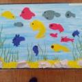 Конспект НОД по познавательному и художественно-эстетическому развитию «Рыбки плавают в воде»