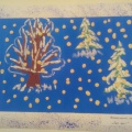 Конспект НОД по речевому развитию и художественно-эстетическому развитию «Снег идет» (вторая младшая группа)