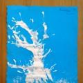 «Деревья в снегу». Художественное творчество детей с использованием нетрадиционной техники