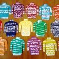 Художественное творчество детей «Ажурный свитер» (фотоотчёт)