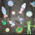 Коллективная работа «Космические дали»