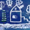 Детское художественное творчество навеянное «В январские морозы»